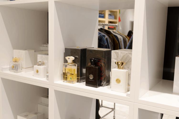storing perfumes