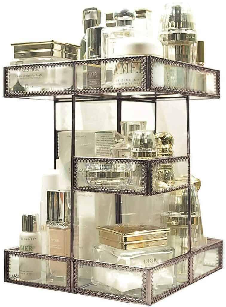 360 Degree Rotation Perfume Tray