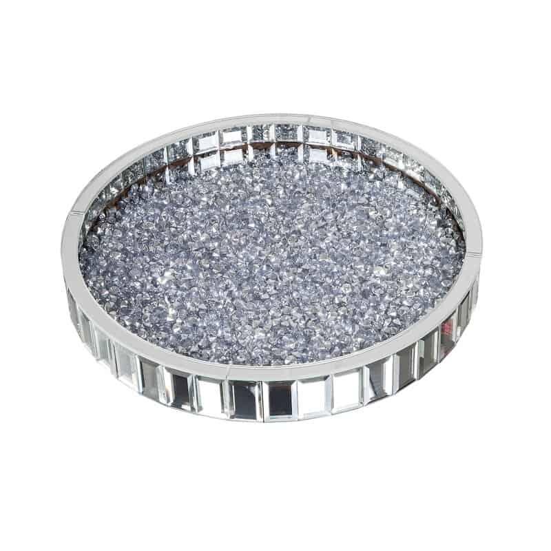 Alika Crushed Diamond Vanity Tray